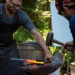 Forging Axe Handle