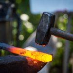Hammering Axe Handle
